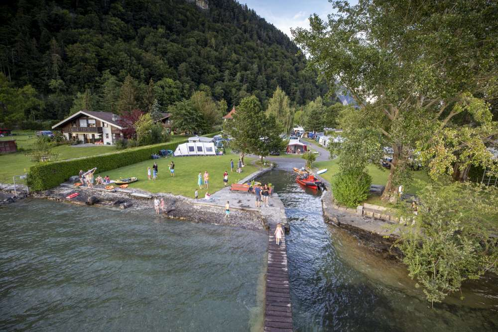 Bildergalerie CAMPING MANOR FARM | Interlaken-Thunersee