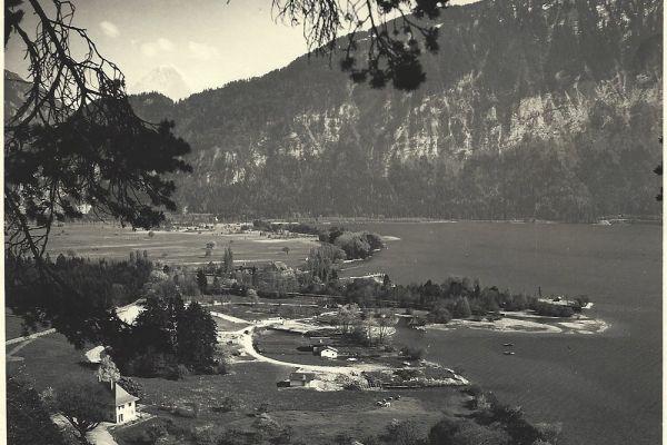 Beginn des Ausbaus der MANOR FARM, 1955