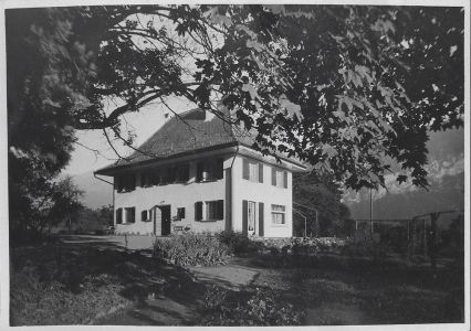 Pension MANOR FARM nach Neubau, 1929