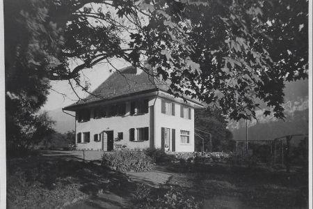 8 - Pension MANOR FARM, nach Neubau 1929 | Camping MANOR FARM | Unterseen - Interlaken