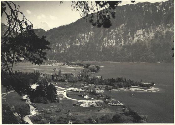 14 - Beginn des Ausbaus der MANOR FARM, 1955 | Camping MANOR FARM | Unterseen - Interlaken